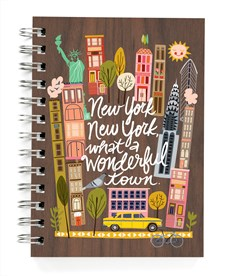 """New York, New York: What a wonderful town!"" -muistikirja"