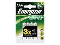 Batteri Oppladbart ENERGIZER AAA 4/fp