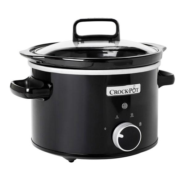 Crock-Pot Slowcooker 2.4 L Manuell Svart - hushållsassistenter