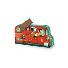 Pussel, Fire Truck, Djeco