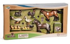 Bondegårdsdyr med hester, Wenno