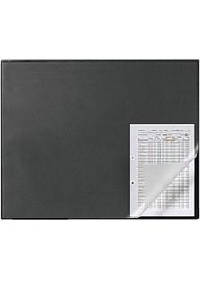 Skrivbordsunderlägg med Kantskydd 65x50 cm Svart
