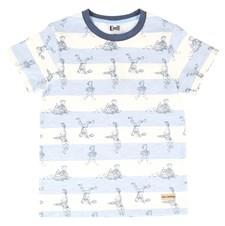T-shirt Lekfull, Blå/vit , Emil i Lönneberga
