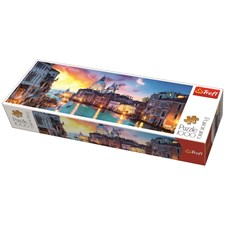 Puslespill, Panorama, 1000 brikker, Canal Grande