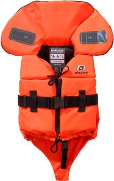 Räddningsväst Split Front 3-15kg, Orange, Baltic