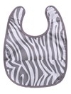 Bib animal grey, Summerville organic