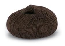 Du store Alpakka Sterk Ullmix 50 g Mørk Brun 810