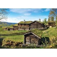 Pussel 1000 bitar, Maihaugen in May, Norway (NO/EN)
