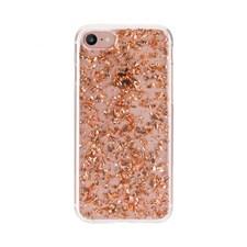 Mobildeksel, Flakes, Til iPhone 6/6S/7/8, Rosé, FLAVR