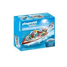 Motorbåt med undervattensmotor, Playmobil Family Fun (9428)