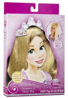Disney Pincess Peruk, Rapunzel, Jakks Pacific