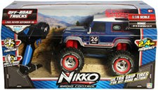 Radiostyrd bil, Landrover Defender 1:16, Nikko