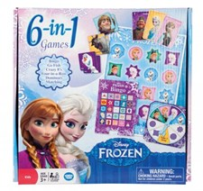 Disney Frozen 6 in 1