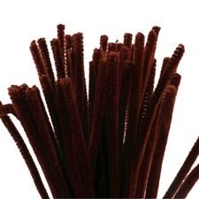 Piperensere, tykkelse 6 mm, L: 30 cm, 50 stk., gml. rød