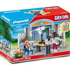 "Playmobil Playbox 70309 Leklåda ""Hos veterinären"""