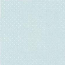 Stoff Mint Prikker Hvit 50/160 cm
