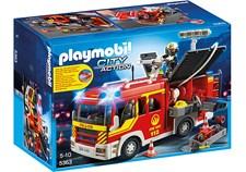 Brandbil med ljud och ljus, Playmobil City Action (5363)