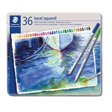 Karat® akvarell 36-pack, av högsta kvalitet, i metallask.