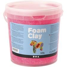 Foam Clay, 560 g, neonrosa