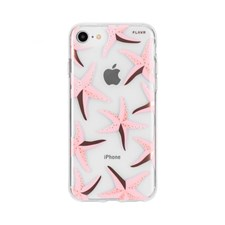 Mobildeksel, Sea Stars, Til iPhone 6/6S/7/8, Pink, FLAVR