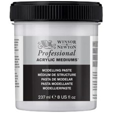 Professional Akryl Medium Modelleringspasta Winsor & Newton 237 ml