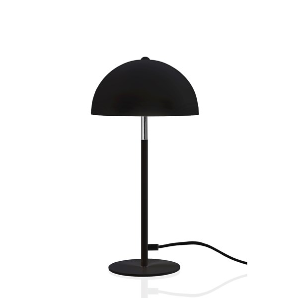 Globen Lighting Icon Bordslampa B  18 D  18 H  40 cm Svart   Krom  Globen Lighting AB