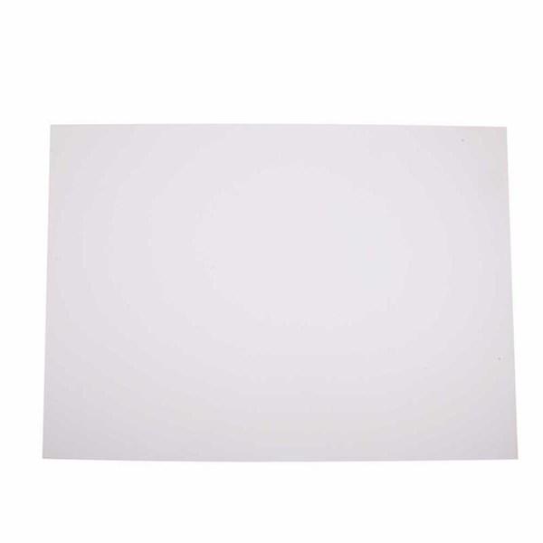 Reklamekartong, ark 500x700 mm, 270-300 g, 10 ark, snehvit