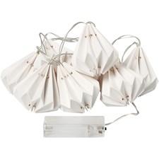 LED-valosarja lamppuineen, pit. 100 cm, halk. 65 mm, 1 kpl, valkoinen