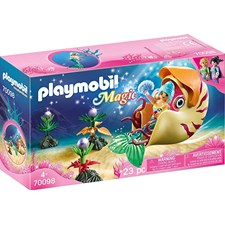 Sjöjungfru med havssnigelsgondol, Playmobil (70098)