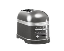 KitchenAid Artisan Toaster 2 Skivor Medallion Silver