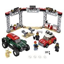 1967 Mini Cooper S Rally och 2018 MINI John Cooper Works Buggy, LEGO Speed Champions (75894)