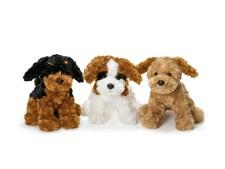 Teddy Dog, Svart/brun, Teddykompaniet