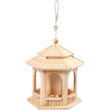Fågelbord, stl. 23x23 cm, furu