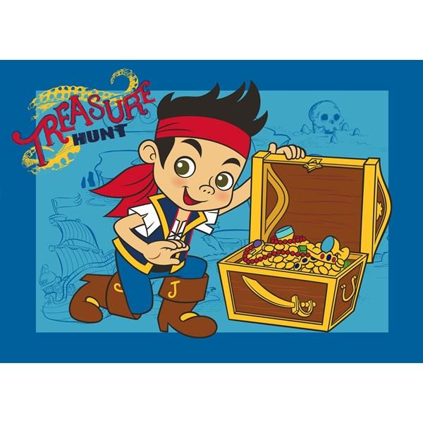 Matta  95x133 cm  Jake Treasure hunt  Jake Neverland Pirates