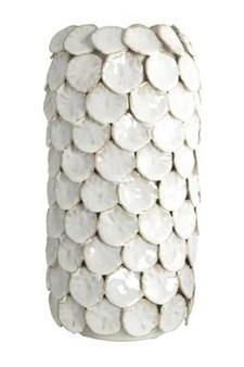 Vase, Dot, Ø 15 cm, H 30 cm, Hvit, House Doctor