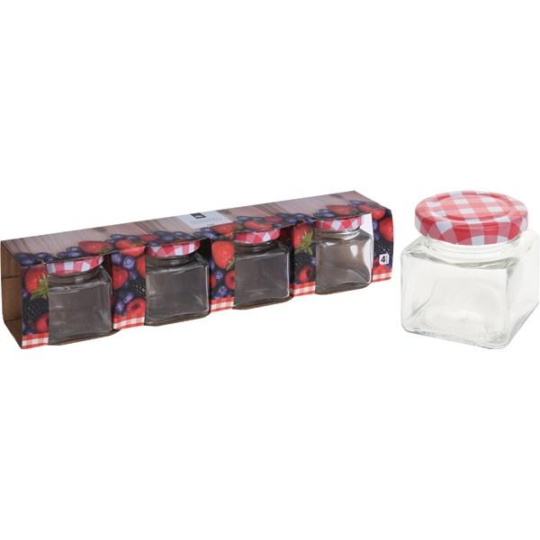 Förvaringsburk Set 4-pack  Övriga varumärken - köksförvaring
