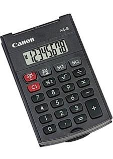 Minikalkulator CANON AS-8 svart