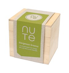 NUTE Te Träask Gordeous Greens Tepåsar 10 st Blandade Tesorter Ekologisk