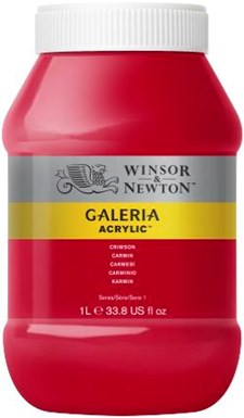 Galeria Akryl 1 liter 203 Crimson