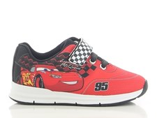 Sneaker, Röd/ svart, Disney Cars