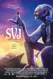 SVJ - Stora vänliga jätten (Blu-ray)