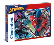 Pussel SuperColor Spiderman, 250 bitar, Clementoni