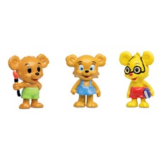 Bamse Hahmosetti Nalle-Maija, Lennu ja Teddy