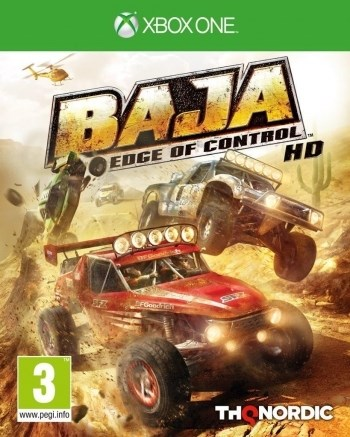 Baja - Edge of Control HD  THQ - xbox one