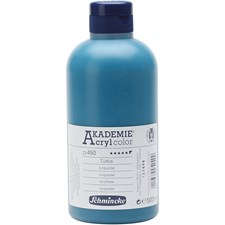 Schmincke AKADEMIE® Akrylmaling, 500 ml, turquoise (450)