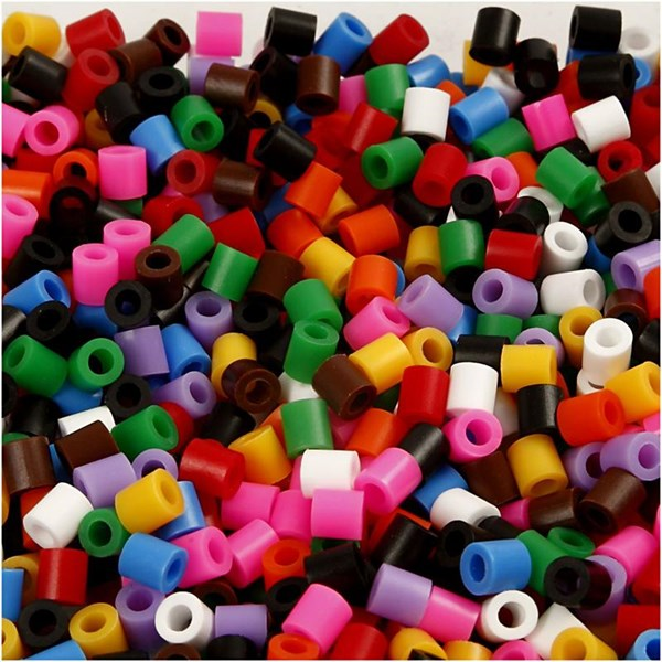 Rörpärlor 5x5 mm 1100 st Standardfärger