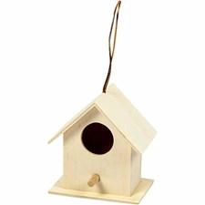 Fågelholk av Trä 6x6 cm Plywood 1 st