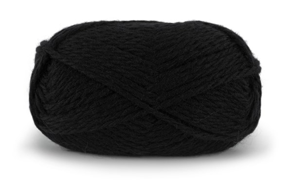 Knit At Home Nordic Wool Lanka Villalangat 100 g musta 701