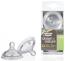 Tommee Tippee Closer to Nature Dinapp Steg 1 (0m+), 2-pack