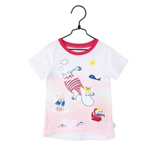 T-shirt Badlek, Röd, strl 104, Mumin